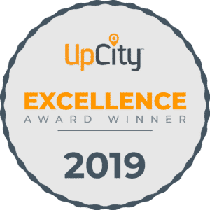 UpCity Excellence Award Winner 2019 badge